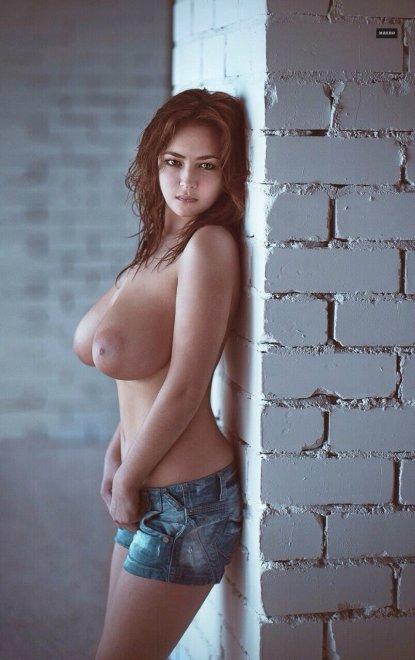 Brick House Upon A Brick Wall Porn Photo