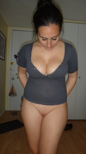 amateur photo Bottomless