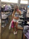 amateur photo Natalia Starr shopping selfie