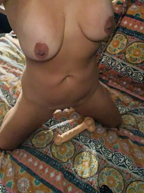 amateur photo Fill me like my dildo?