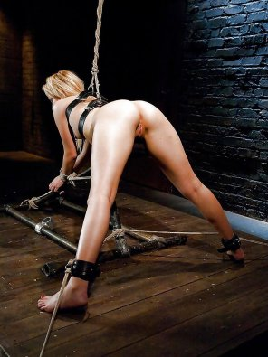 amateur photo could not wait to try out the new slave