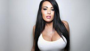 amateur photo Long black hair