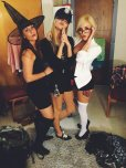 amateur photo Halloween Trio.