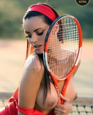 amateur photo Tennis tits