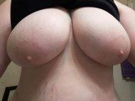 I love showing of[f] my big tits