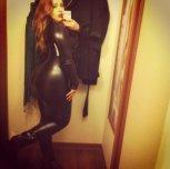 She definitely fills out that bodysuit