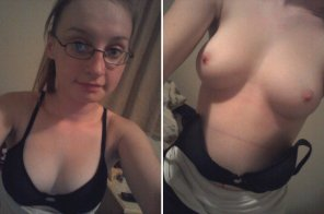 amateur photo Nerdy Girl