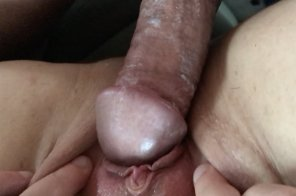 amateur photo She came on my cock and grooled hard! [OC]