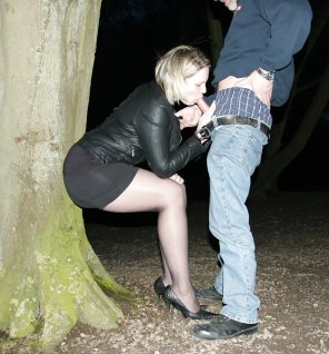 amateur photo bj in park