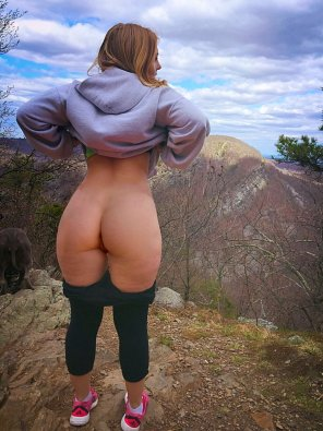 amateur photo Great ass outdoors