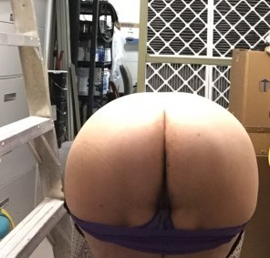amateur photo My ass got jealous o[f] all the attention my tits were getting...