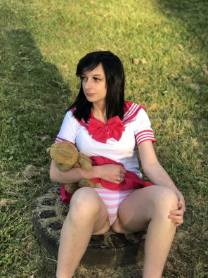 amateur photo [OC] Me and my teddy bear [18]