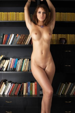 amateur photo Lovely library
