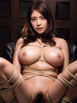 amateur photo Fujiura Megu a.k.a Meguri - Tied Up & Ready To Fuck! !