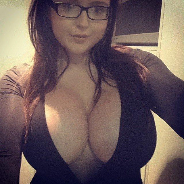 Pov Glasses Brunette Big Tits