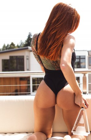 amateur photo Really redhead