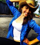 amateur photo Cowgirl.