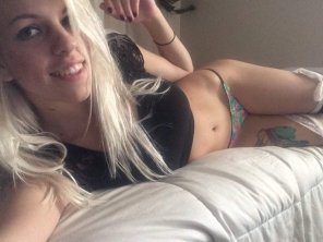 amateur photo Back as blonde! Have you missed me?