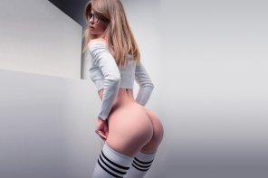 amateur photo Thigh High Socks