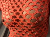Fiery fishnet!