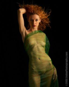 amateur photo See through green