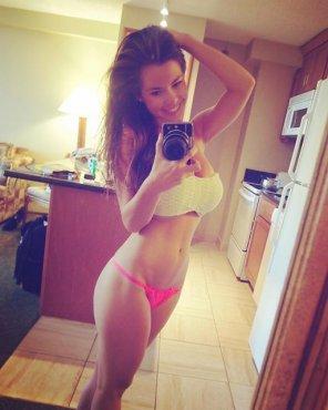 amateur photo Strapless Bikini