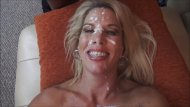 Real Milf - Jenny Jizz got face painted