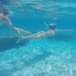amateur photo Pro Surfer Alana Blanchard Underwater