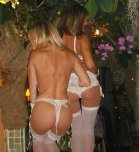 amateur photo Nice butts in lingerie