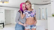 Proxy Paige and Angel Piaff gets slammed with a Hot Creampie