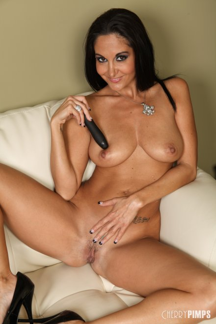 Ava Addams with her Natural Tits Porn Photo
