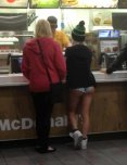 amateur photo Mcdees ass
