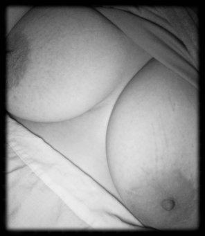 amateur photo My 38GG boobs