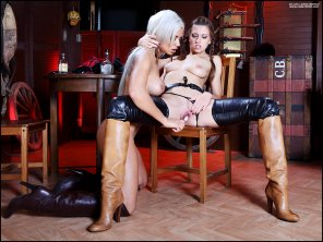amateur photo Gorgeous pair in sexy boots