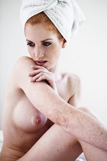 [NSFW] Freckles Porn Photo