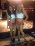 amateur photo New outfits for our ringside girls! What do you think?
