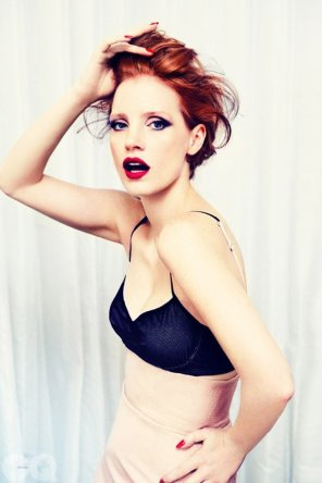 amateur photo Jessica Chastain GQ UK