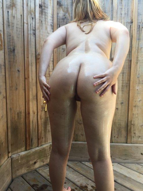 Outdoor Wet Booty Porno Zdjęcie