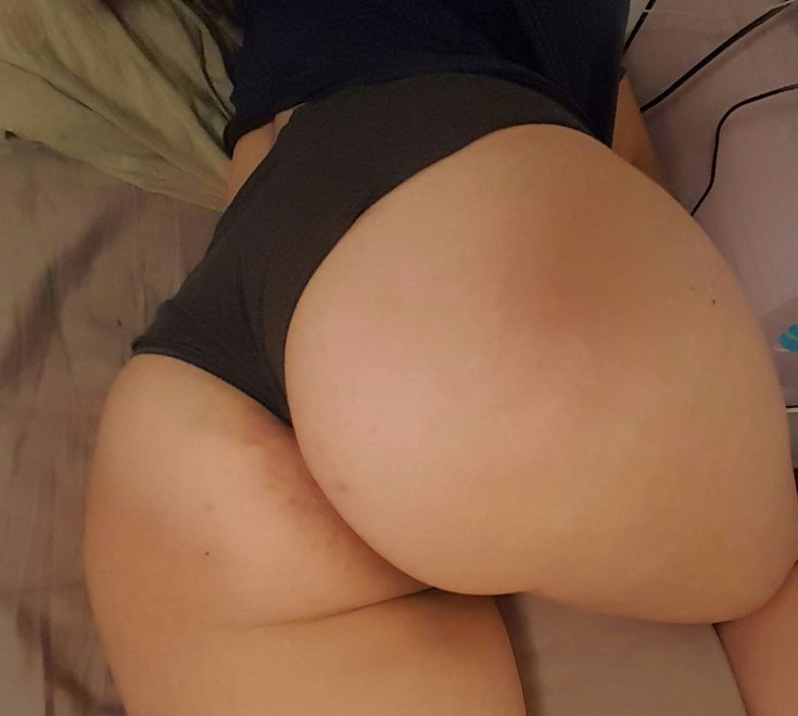 My girlfriend's ass once again Porn Photo