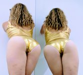 A new gold leotard, should i wear this on the pole?