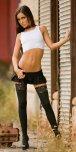 amateur photo Mini skirt