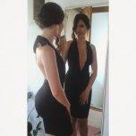amateur photo Little black dress