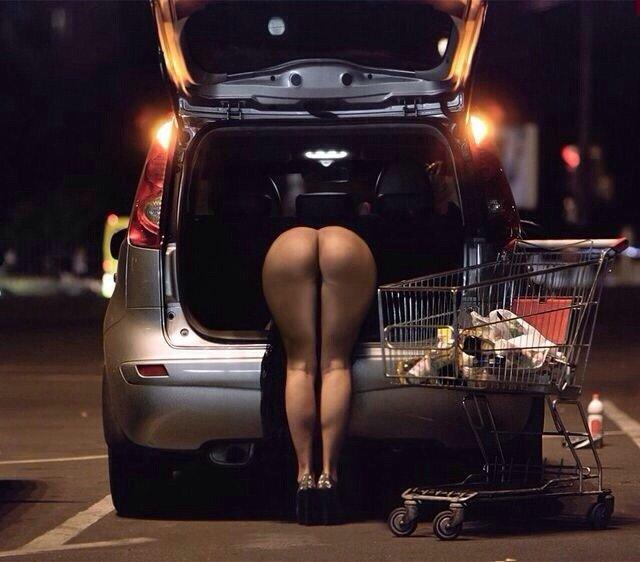 Midnight shopping Porn Photo