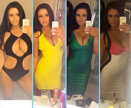 Abigail Ratchford in each outfit Porn Photo
