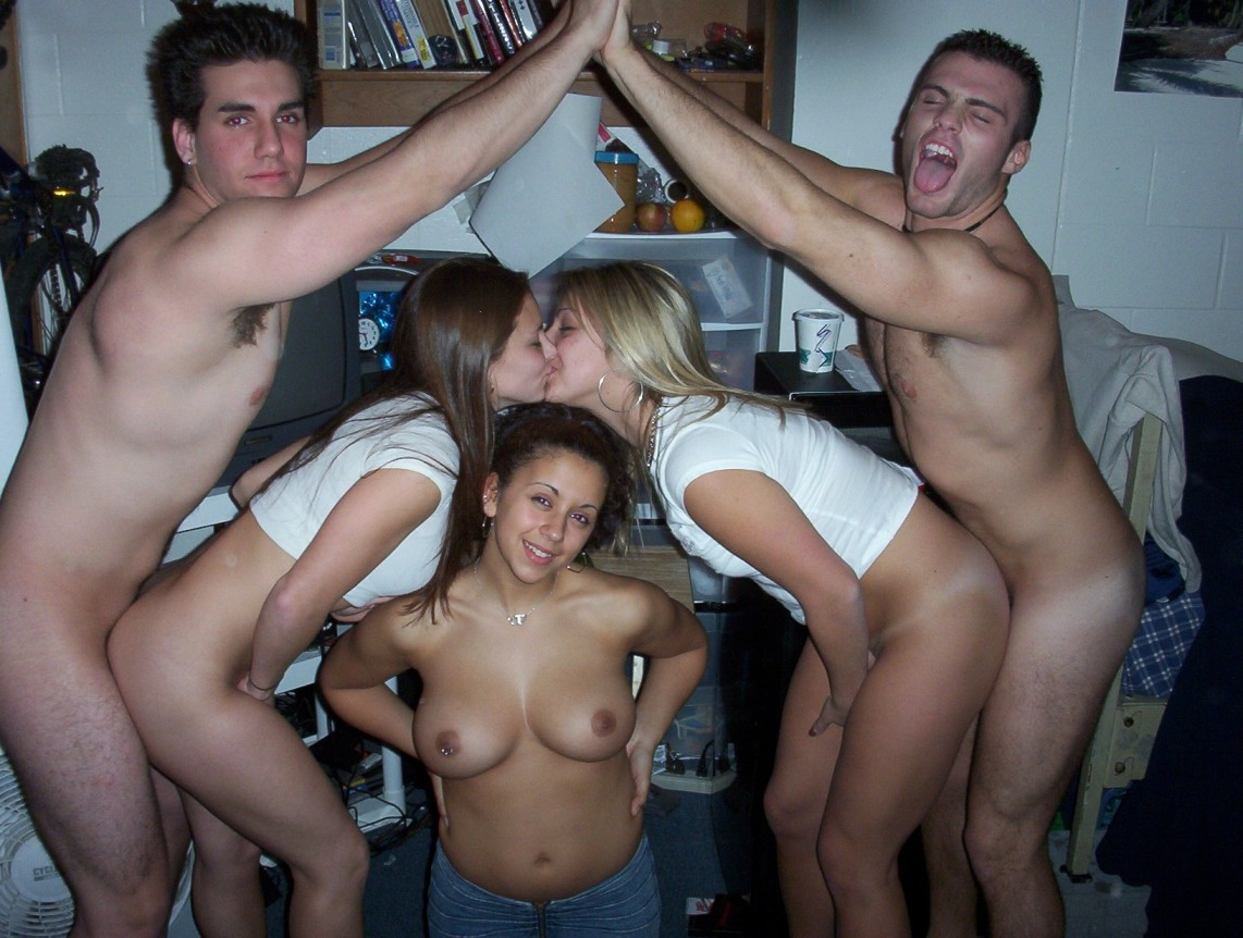 College Porn Party