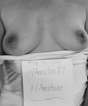 amateur photo [F]rom last week.. looking to get verified..