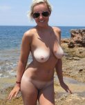 amateur photo Milf at the Beach