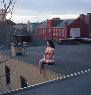 amateur photo On the roof