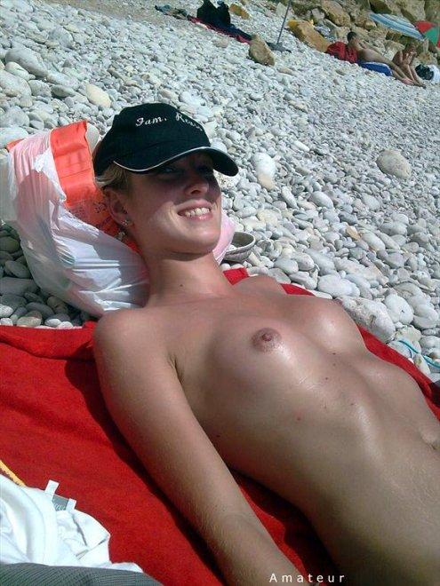 Cutie getting some sun Porn Photo