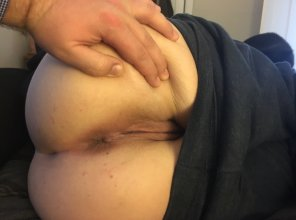 amateur photo He really want to fuck my asshole. Should I let him?